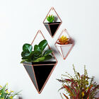 Geometric Wall Hanging Flowerpot Triangle Plants Holder Succulents Vases Display