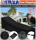 Waterproof Sun Lounge Chair Dust Cover Oxford Outdoor Garden Patio Furniture Au