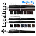 Butterfly Deploy Premium Calf Leather Sport Straps Croc Corfam Perforated Plain