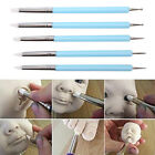 5pcs/Set 2 Way Pottery Clay Ball Tools DIY Sculpting Polymer Modelling Craft✓ image