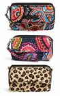 Vera Bradley All In One Crossbody Handbag Wristlet Fits iPhone 6,7,8 & X