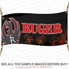 Ruger Banner Firearms Full Color Custom Vinyl Sporting Goods Garage Man Cave bndTrail Markers & Signs - 177889