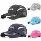 Quick Drying Peaked Cap Sunscreen Sports Baseball Caps Unisex Fashion Sun Hats