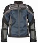 Klim Mens Blue/Grey/Black Induction Touring Motorcycle Jacket