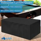 Waterproof Dust 7ft/8ft Outdoor Pool Snooker Billiard Table Cover Polyester Cap $37.99 AUD on eBay