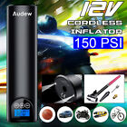 AUDEW 12V 150PSI Car Tyre Inflator Pump Cordless/Corded Air Compressor   #$1
