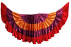 Multi Color Satin 12-16-25-32 Yard 4 Tier Skirt Belly Dancing GYPSY Flamenco