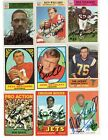 Autographed Football Cards 8 x 10 1966 1967 1968 1969 1970 1971 1972 1973 2015+ $7.98 USD on eBay