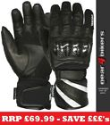 SALE Weise Oslo LARGE Mesh Leather Short Waterproof Motorcycle Glove Gloves L