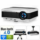 Android WiFi LED LCD Home Theater Projector Movie Game 1080p Video HDMI USB VGA