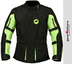 SALE Buffalo Siena Neon Ladies Motorcycle Jacket Scooter Motorbike Lady Woman