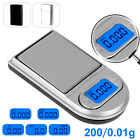 0.01g x 200g Gram Mini Digital Pocket Lighter Shape Scale Jewelry Diamond Weight