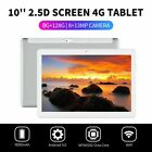 """10.1"""" WIFI/4G-LTE 8G+128G Android 9.0 HD PC Tablet Pad SIM GPS Dual Camera pw"""