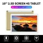 "10.1"" WIFI/4G-LTE 8G+128G Android 9.0 HD PC Tablet Pad SIM GPS Dual Camera pw"