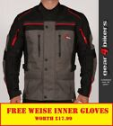 Weise Atlanta Stone Textile Motorcycle Armoured Jacket Mens Scooter Commuter