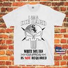 Chicago White Sox Baseball PUNISHER SKULL MLB Jersey T Shirt Free Shipping on Ebay