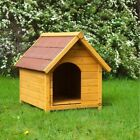 Wooden Dog Kennel Classic Big Outdoor House Waterproof Roof Small Medium Large