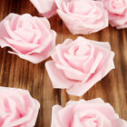 50-100 Artificial Flower Foam Rose Fake Flowers Heads Wedding Bouquet Valentines