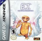 Game Boy Advance - E.T. The Extraterrestrial - Free Shipping