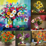 5D DIY Full Drill Diamond Painting Flower Bouquet Cross Stitch Embroidery Craft