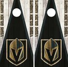 Vegas Golden Knights Cornhole Wrap NHL Wood Game Skin Set Vinyl Decal CO220 $39.95 USD on eBay