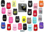 Parisian Pet Dog Embroidered T Shirt 100 Cotton All Styles Free USA Shipping