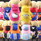 Kyпить Cartoon Small Dog Clothes Pet Puppy Hoodied Dog Cat Apparel 13 Colors XS-XXL на еВаy.соm