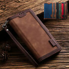 For Samsung Galaxy A71/a51/a11/a01 Magnetic Leather Flip Wallet Strap Case Cover