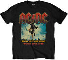 AC/DC 'Blow Up Your Video' (Negro) Camiseta Para Niños - ¡NUEVO Y...