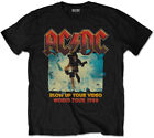AC/DC 'Blow Up Your Video' (Negro) Camiseta Para Niños - ¡NUEVO Y OFICIAL!