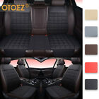 Universal Car Seat Cover Linen Leather Pad Front Back Mat Chair Cushion Protect $89.99 USD on eBay