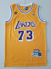 Los Angeles Lakers # 73 Dennis Rodman Yellow Basketball Jersey Size: S - XXL on eBay