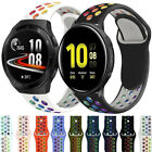 Silicone Sport Watch Band Strap For Samsung Galaxy Watch Active 2 40mm 44mm 42mm image