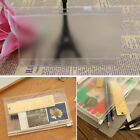 6 Holes Pencil Stationery Rectangle PVC Sundries Storage Transparent File Holder
