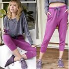 NWOT FREE PEOPLE COUNTERPUNCH CROP JOGGERS SWEATPANTS S M