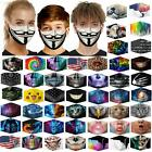 Unisex Washable Reusable Facemask Half Face Mouth Mark Protective Filter Mask 22