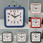 Battery Operated Easy To Read Alarm Clock Desk Bedroom Bedside Table Decor Gift