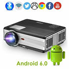 1080P Android WiFi Projector LED Blue-tooth LCD Display Home Theater Proyector