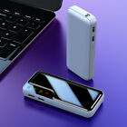 900000mAh Ultra-thin Portable External Battery Huge Capacity Power Bank Charger