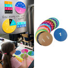 15/32Pcs Fraction Circles Counting Boards Kids Ages 6