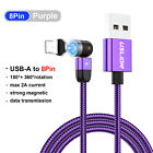 3A Magnetic Fast Charging Cable TypeC Micro USB Data Transfer For iPhone Samsung