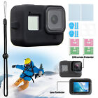 Protective Shell Cover Housing Case +Screen Lens Film Kit For Gopro Hero 8 Black