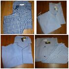 Roundtree  Yorke Men  s Pajama Set SS Top and Shorts M L or XL