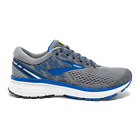 Brooks Ghost 11 Running Shoes, Men's Size 14 Wide (2E), Grey/Blue/Silver NEW