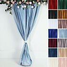 8 feet x 8 feet Velvet Backdrop Curtain Photo Booth Background Party Decorations