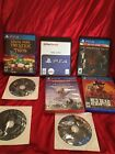playstation 3 and 4 video game lot