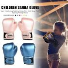 2pcs Breathable Kids Muay Thai Sparring Gloves Boxing Punching PU Leather Gloves