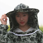 Camouflage Unisex Protective Suit Beekeeping Clothing With Hood Costume Anti Bee