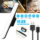 USB Rechargeable LED Dimmable Touch Light Bar Cabinet Closet Strip Lamp Magnetic