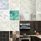 10/50/90x Kitchen Tile Stickers Bathroom Mosaic Self-adhesive Wall Decal Sticker